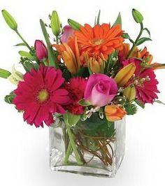 valentine floral arrangement ideas | floral arrangement using these flower decoration ideas for valentine ...