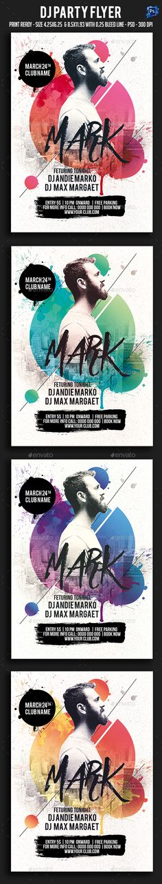 Buy Dj Party Flyer by sparkg on GraphicRiver. Dj Party Flyer It's unique flyers, poster design for your business Advertisement purpose. All Elements are in individ. Dj Party, Party Flyer, Flyer And Poster Design, Flyer Design, Urban Sport, Music Memes Funny, Plakat Design, Music Artwork, Party Poster