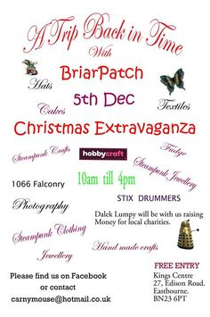 A Trip Back in Time with BriarPatch Christmas Extravaganza – Heyevent. Fairs And Festivals, Clothes Crafts, Back In Time, Hobbies And Crafts, Family Christmas, Charity, Events, Diy Clothes, Diy Clothing