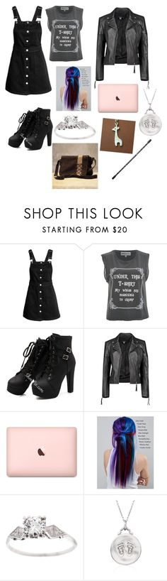 """Finds out about Barton"" by lolz-boyd ❤ liked on Polyvore featuring Wildfox, Boohoo, Manic Panic NYC and Monica Rich Kosann"