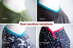 pattydoo free sewing tutorial for boat neckline variations
