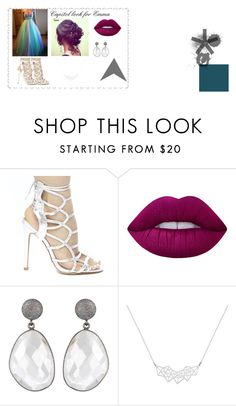 Capitol look for Emma by emma-loves-fashion294 on Polyvore featuring Lime Crime and Mac Duggal