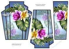 Art Deco Stacker - Back To Tropics - CUP729334_1763 | Craftsuprint