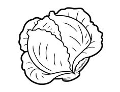 Vegetable Coloring Pages, Fruit Coloring Pages, Coloring Book Pages, Coloring Sheets, Art Drawings For Kids, Drawing For Kids, Easy Drawings, Stick Figure Drawing, Quiet Book Patterns