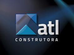 Logotipo criado pela Ópera para a ATL Construtora de Fernandópolis   SP.