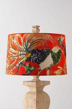 Avian Curiosities Light Shade - anthropologie.com