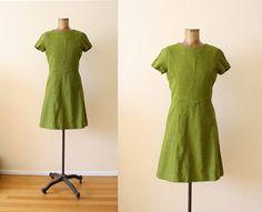 Avocado dress from Milkteeths Vintage