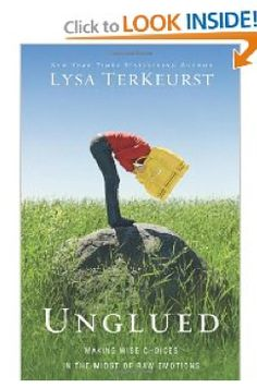 Unglued by Lysa Terkeurst || Review by Money Saving Mom