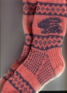 bunnysocks2 by knitting in color, via Flickr