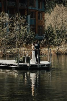 Picture your dream Whistler wedding at Nita Lake Lodge where our stunning venues, bridal spa services, and custom catering ensure an unforgettable event. Wedding Dress With Veil, Instagram Handle, Spa Services, Whistler, Rocky Mountains, Lodges, Wedding Venues, Hair Makeup, Stationery