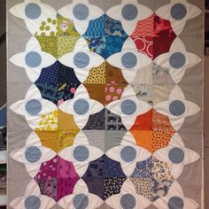 Almost finished from #meadowquilt class with Lizzy House.