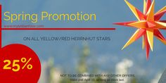 """SPECIAL OFFER - SPRING SALE """"YELLOW/RED"""" 