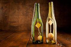 Wine Bottle Wind Chime | shopswell