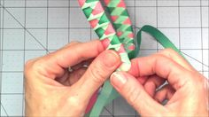 Learn to make a fun woven ribbon headband with a twist using ribbon and supplies from Really Reasonable Ribbon. To see more info and better photos of the sam...