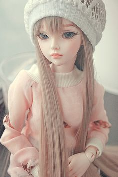 Image about girl in Bjd Dolls 💎 by mess on We Heart It Pretty Dolls, Cute Dolls, Beautiful Dolls, Baby Dolls, Doll Toys, Enchanted Doll, Marionette, Kawaii Doll, Poppy Parker