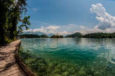 Bled lake, Slovenia. Copyright Aki Votrubova.