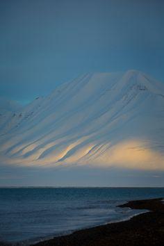 Adventfjorden, Norway by Simon Dubreuil
