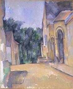 Paul Cézanne - Ferme à Montgeroult (Farm at Montgeroult), 1898