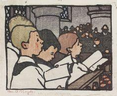 ✽ mabel royds - 'choir boys
