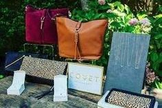 COVET by Stella & Dot.. I am in love with this new line of leather bags and diamond necklaces <3