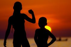 Sunset Kids! Porec, Istria, Istra, Croatia, Summer, Sea Croatia, Mood, Sea, Island, Sunset, Kids, Pictures, Young Children, Photos
