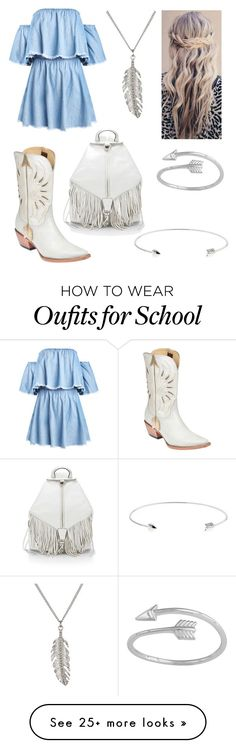 """Back-To-School"" by sadsmith on Polyvore featuring Ted Baker, Delicates by Paloma & Ellie, Lucchese and Rebecca Minkoff"