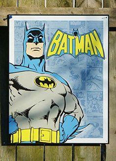 Batman Tin Sign 12 x 16in