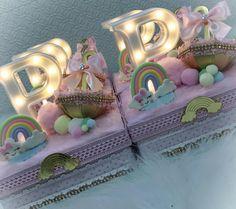 Desserts, Gender Reveal, Love Rain, Bow Braid, Box, Fiestas, Tailgate Desserts, Deserts, Postres