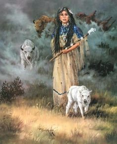 White Buffalo Maiden Cross Stitch Pattern***L@@K***$4.95 CLICK PICTURE TO SEE PATTERN FOR-SALE