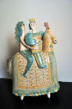 ULISSE E SIRENA A CAVALLO