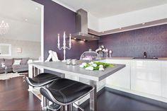 feminine glam kitchen