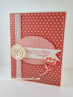 Happy Day at  prettypapercards.com!