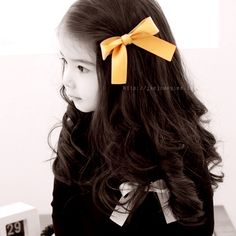 I want my girls hair this long and pretty somday...before they can choose to cut it all off themselves:)