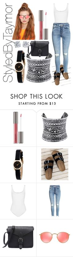 """Day two Houston"" by styledbytaymor on Polyvore featuring Perricone MD, LULUS, Marc by Marc Jacobs, Bearpaw, Wolford, Ray-Ban and Tiffany & Co."
