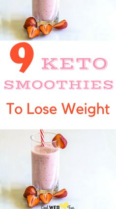 Low carb keto smoothie recipes for breakfast. These high protein weight loss smoothies can also be used as meal replacement for keto dinners.