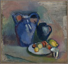Henri Matisse, Nature morte à la cruche bleue (Still Life with Blue Jug), ca. 1900-1903