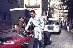 Lorenzo Bandini, Ferrari 1512. 1965 Monaco Grand Prix.