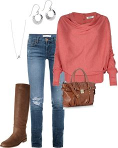 """""""coral fall"""" by jgulla87 on Polyvore"""
