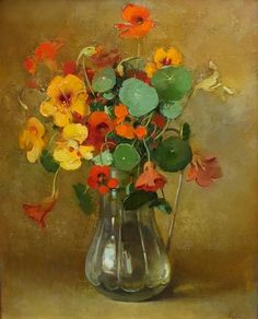 Nasturtium in painting - everything Journal