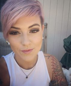 Dusty+pink+pixie+by+Lyndee+Hairlove+Marie