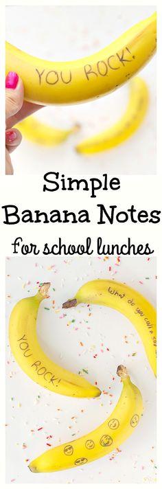 Simple Banana Notes