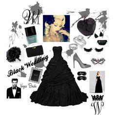"""Black Wedding"" by louiseenorris on Polyvore Wedding Bride, Shoe Bag, Polyvore, Black, Design, Women, Fashion, Moda, Black People"