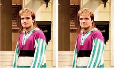 i cannot handle 80's josh ahaha and this is the best skit i ever saw for SNL love it! the song is perfect for josh!!