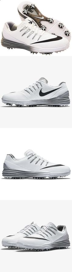 Golf Shoes 181147: Nike Lunar Control 4 Womens Golf Shoes Size 8 White Black Grey 819034-101 -> BUY IT NOW ONLY: $59.99 on eBay!