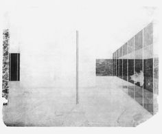 Mies Van der Rohe, Barcelona Pavilion Collage