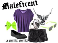 Disney inspired clothing by disneythis-disneythat. Maleficent.