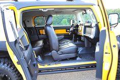 FJ_Yellow_#1 — Davis Autosports Fj Cruiser Off Road, Fj Cruiser Mods, Toyota Fj Cruiser, Lifted Jeep Cherokee, Jeep Wrangler Lifted, Jeep Wrangler For Sale, Urban Survival, Toyota Hilux, Car Seats
