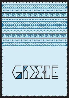 #greece #greekkey