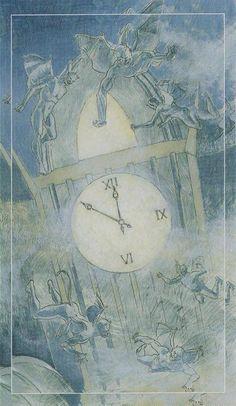 X. The Wheel of Fortune - Tarot of the Spirit World by Roberto de Angelis, Bepi Vigna
