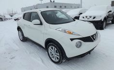 2014 Nissan Juke White
